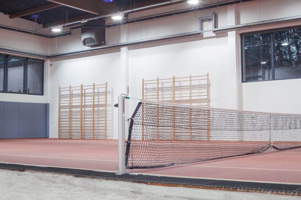 System wentylacji bezkanałowej na hali gimnastycznej