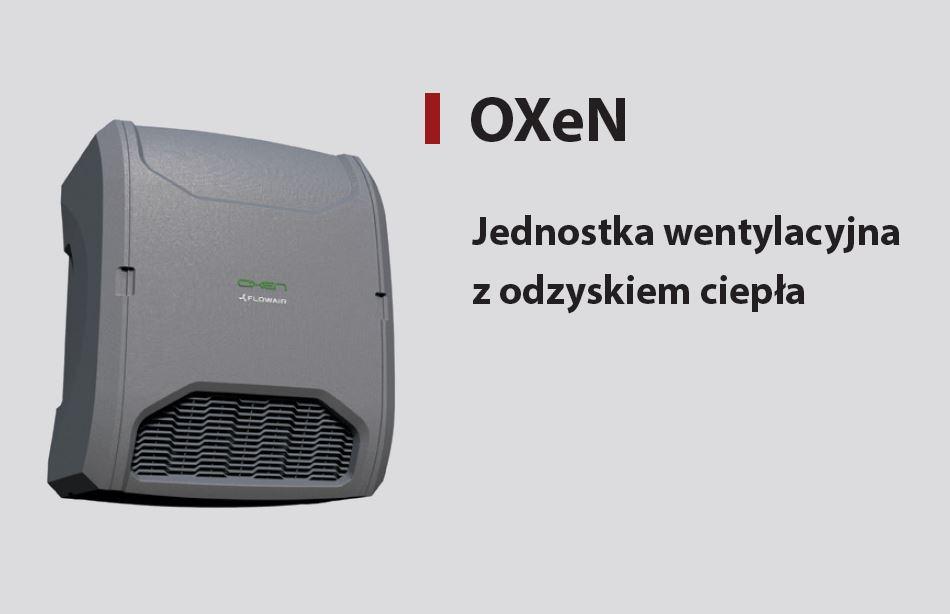 Jednostka wentylacyjna z odzyskiem ciepła OXeN - urządzenie do wentylacji m.in hal sportowych