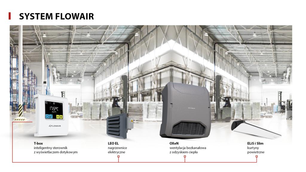 urządzenia elektryczne SYSTEM FLOWAIR